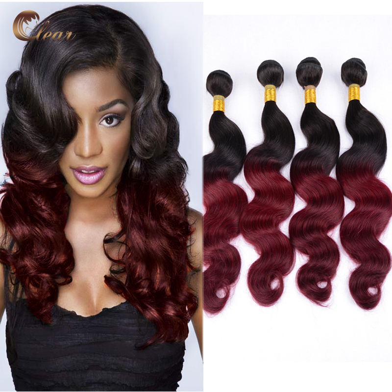 Buy Peruvian Ombre Hair 3pieces Lot Two Three Tone Virgin
