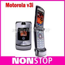Motorola V3i mobile phone 100% Original Motorola Razr v3i unlocked phone refurbished(China (Mainland))