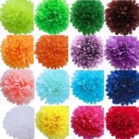 Paper Poms for Wedding Celebration Scent-free Home Decoration Accessories D2