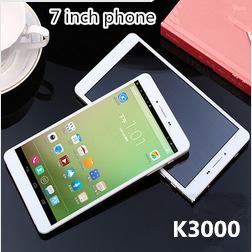 New K3000 7 inch mobile phone dual sim card 1GB RAM 8GB ROM 3G smartphone MTK8312 Bluetooth GPS 3G Tablet PC cell phones(China (Mainland))