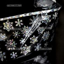 Nail Art Transfer Wrap Decal All kinds of beautiful snow flake Decor Nail Art Art Transfer Foil easy DIY S615