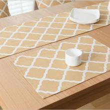 1 Pcs Nordic Geometry Cotton Linen Placemats Dining Tables Mats Bar Mat  Table Mat Bowl Pad Table Home Decoration(China (Mainland))