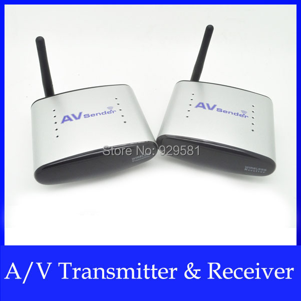 AV Transmitter Receiver Audio Video Sender with IR Signal Extension Wire 150m 2.4GHz Wireless for TV Set box DVD IPTV PAT220(China (Mainland))