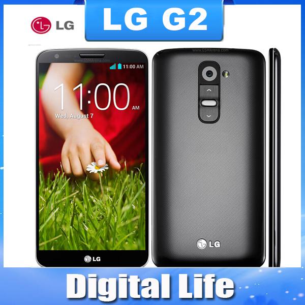 Original LG G2 D802 D800 LS980 F320 F320L F320S mobile phone 13MP camera Quad-core 5.2'' screen WIFI Bluetooth(China (Mainland))