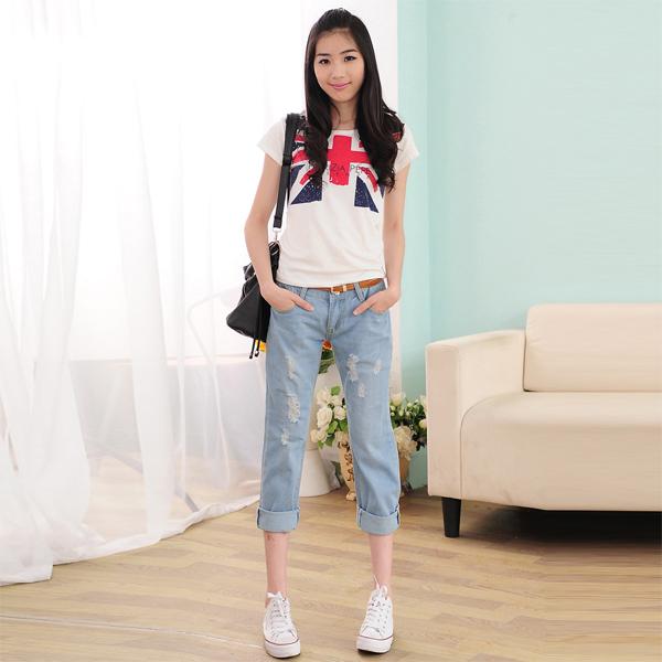 Свободные джинсы женские с доставкой