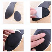 New 5 pairs Anti-Slip Stick Shoes Heel Sole Protector Grip Pads Self-adhesive Cushion insoles(China (Mainland))