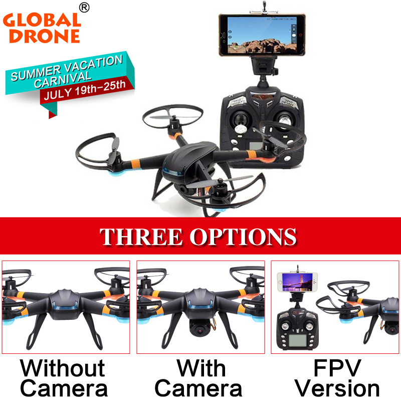 2016 Global Drone GW007-1 Quadcopter Drone With Camera or rc helicopter without camera 2.4G 6-Axis Gyro One Key Return(China (Mainland))