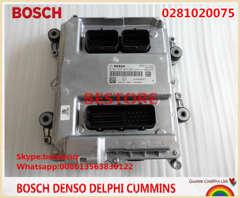 EDC7 Series engine electronic control unit PC board ECU 0281020075 for WEICHAI engine 612630080007(China (Mainland))