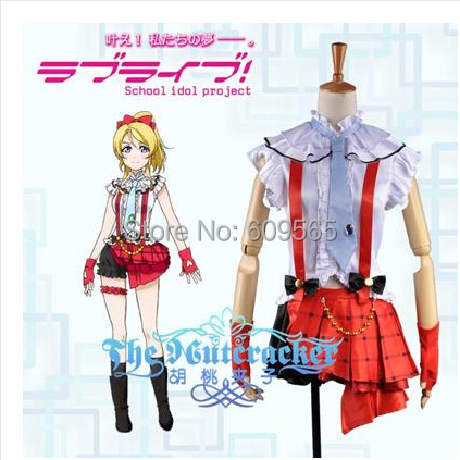 2014Free shipping Love live Ayase Eri pile costumes cosplay clothing free shipping Dage wear Cosplay clothing Pumpkin pantsОдежда и ак�е��уары<br><br><br>Aliexpress