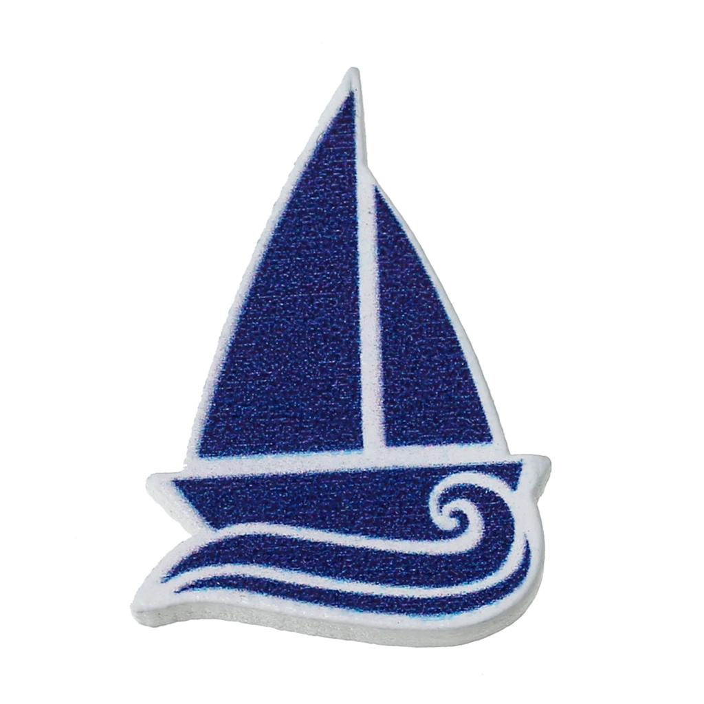 Wood Cabochons Scrapbooking Embellishments Scrapbooking Art Craft Collection Sail Boat Blue 3.1cm x 22mm ,100 PCs 2016 new(China (Mainland))
