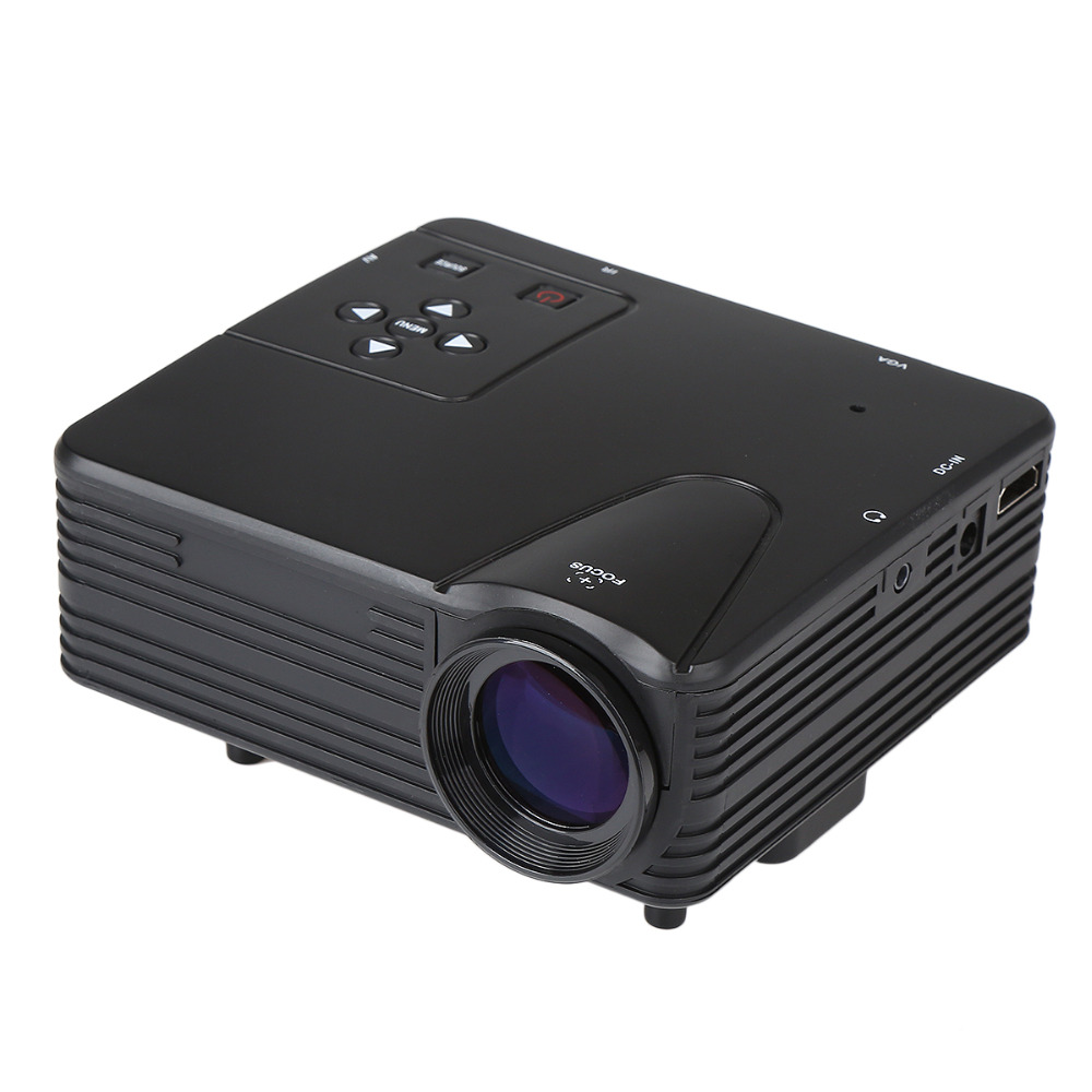 Home 100lumen mini led projector multi function home for Small hdmi projector