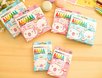 1 Set 8/12/24 Colored Kid Baby pastel Drawing Wax Color Crayons Giz Kalem Papeleria for Drawing Dtationery Kleurpotloden AIHAO