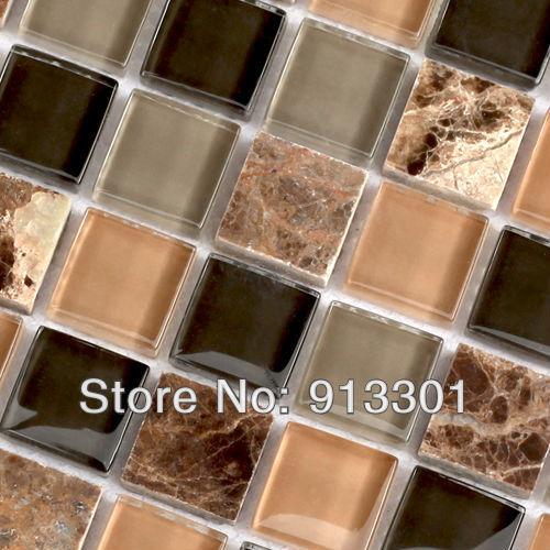 Acquista all'ingrosso online fogli di mosaico mattonelle di pietra ...