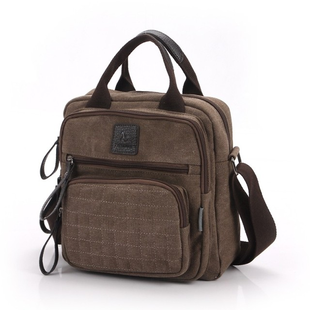 Commercial 2014 male bag man handbag canvas messenger bag casual bag travel bag<br><br>Aliexpress