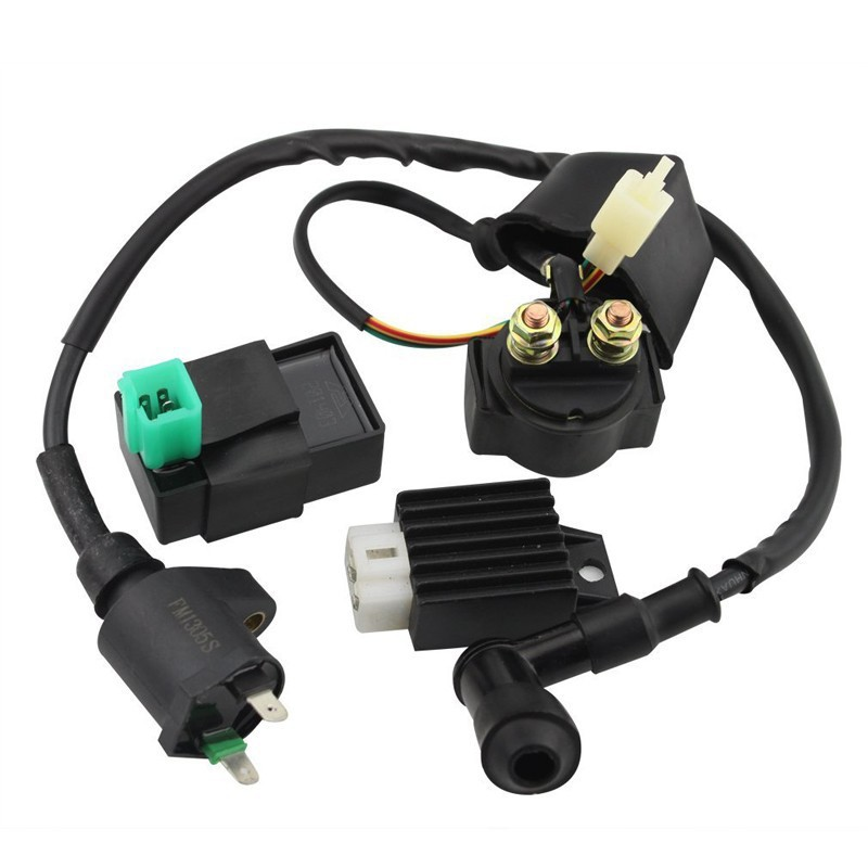 GOOFIT Ignition Coil CDI Regulator Rectifier Relay Kit for 150 200 250 Cc Chinese ATV Group-90(China (Mainland))