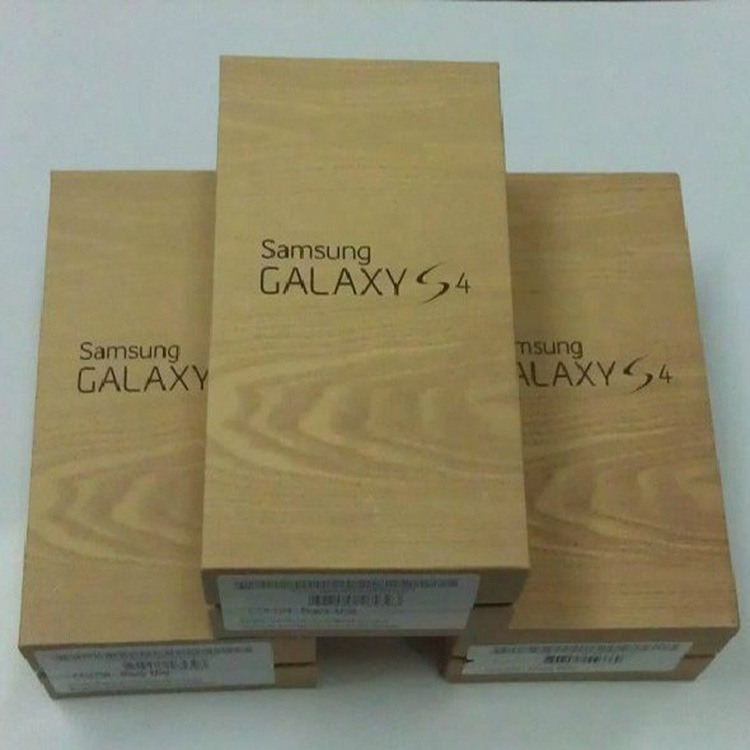 1pcs/lot Original quality packing Box For Samsung S4 i9500 Without Accessories packing Package Box(China (Mainland))