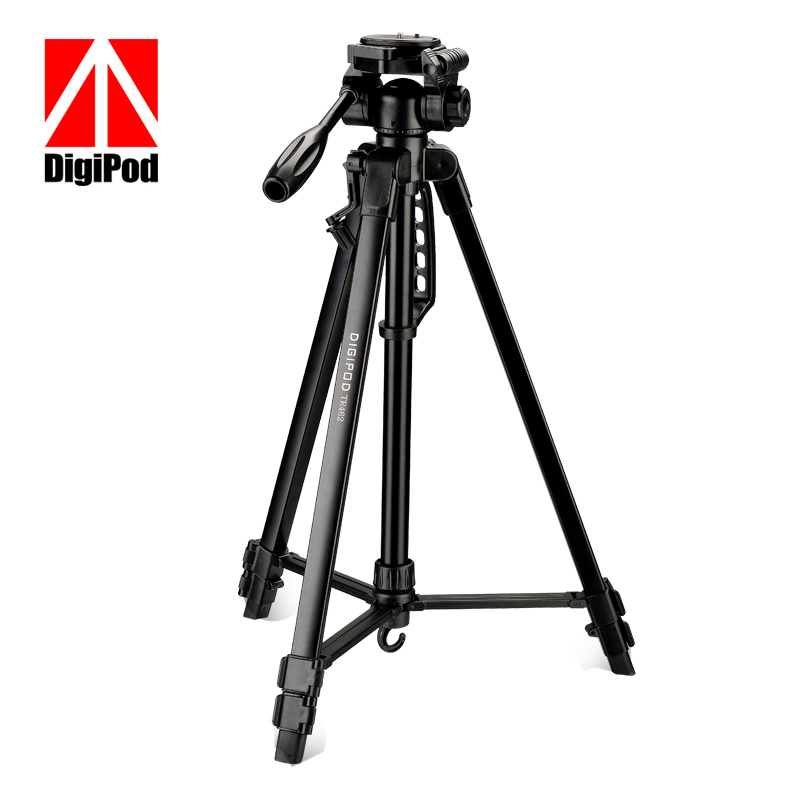 DIGIPOD TR452 Compact Lightweight Aluminum Flexible Digital Camera Camcorder Tripod for Canon Nikon Sony Fuji Olympis Panasonic(China (Mainland))