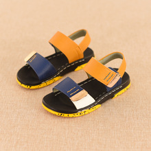 2016 New Fashion Kids Sandals Children Summer Shoes Soft Bottom Little Boys Girls Anti-slip Sandals Kids Baby Boy  Shoes(China (Mainland))