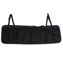 Car Trunk Seat Back Folding Oxford Organiser Multi-Pocket Auto Travel Hanging Storage Bag Car Seat Tidy Organizer Bag Black(China (Mainland))
