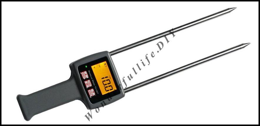 HOT 4 Pcs/Lot TK100C Digital Cotton Seed-cotton Moisture Meter Digital Tester 7-40% hygrometer<br><br>Aliexpress