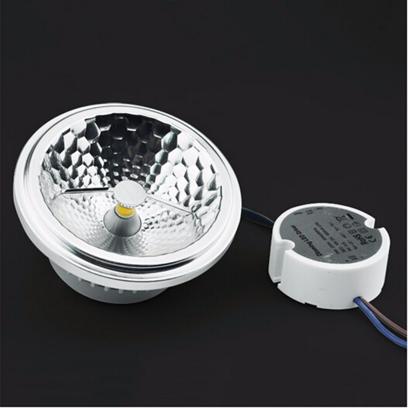 EXTERNAL DRIVER LED AR111 SPOTLIGHT (6)