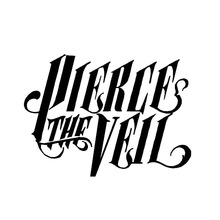 15.2*11.1CM PIERCE THE VEIL Fashion Car Body Decal Stickers Vinyl Car-Styling Cover Accessories Black/Silver C9-0399(China (Mainland))