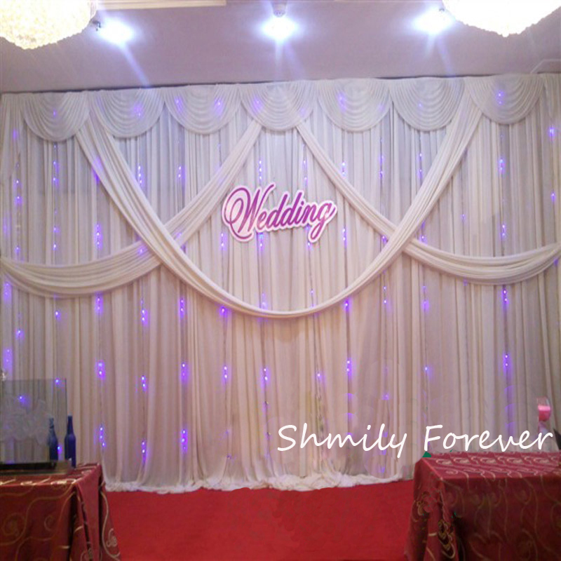 20ft custom made wedding backdrop curtain event decoration in event