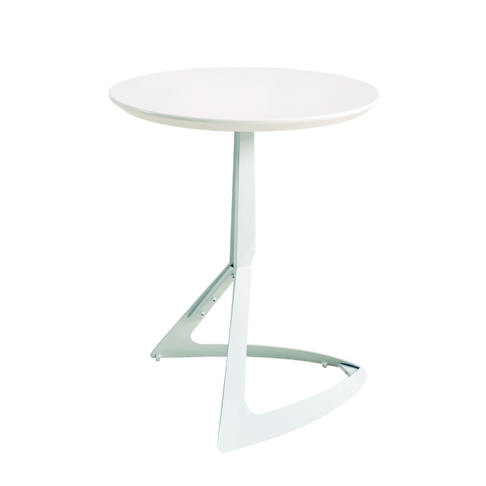 Special minimalist modern European-style coffee shop home personalized small apartment hotel designer small round folding tables(China (Mainland))