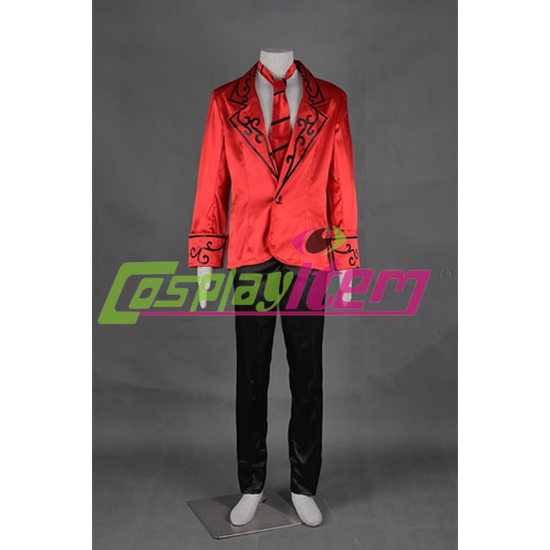 Free shipping Customized anime movie  LOL cosplay Tango Twisted Fate Cosplay Costume from LOL with hat Одежда и ак�е��уары<br><br><br>Aliexpress
