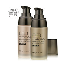 LaiKou Men bb cream color of wheat / natural color Concealer 40g waterproof sunscreen lasting factory wholesale agents(China (Mainland))