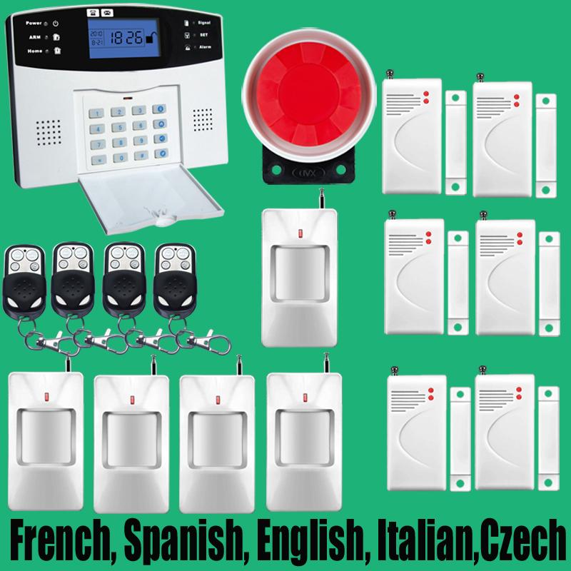 Sistema de alarma gsm lcd compra lotes baratos de - Sistema de alarma gsm ...
