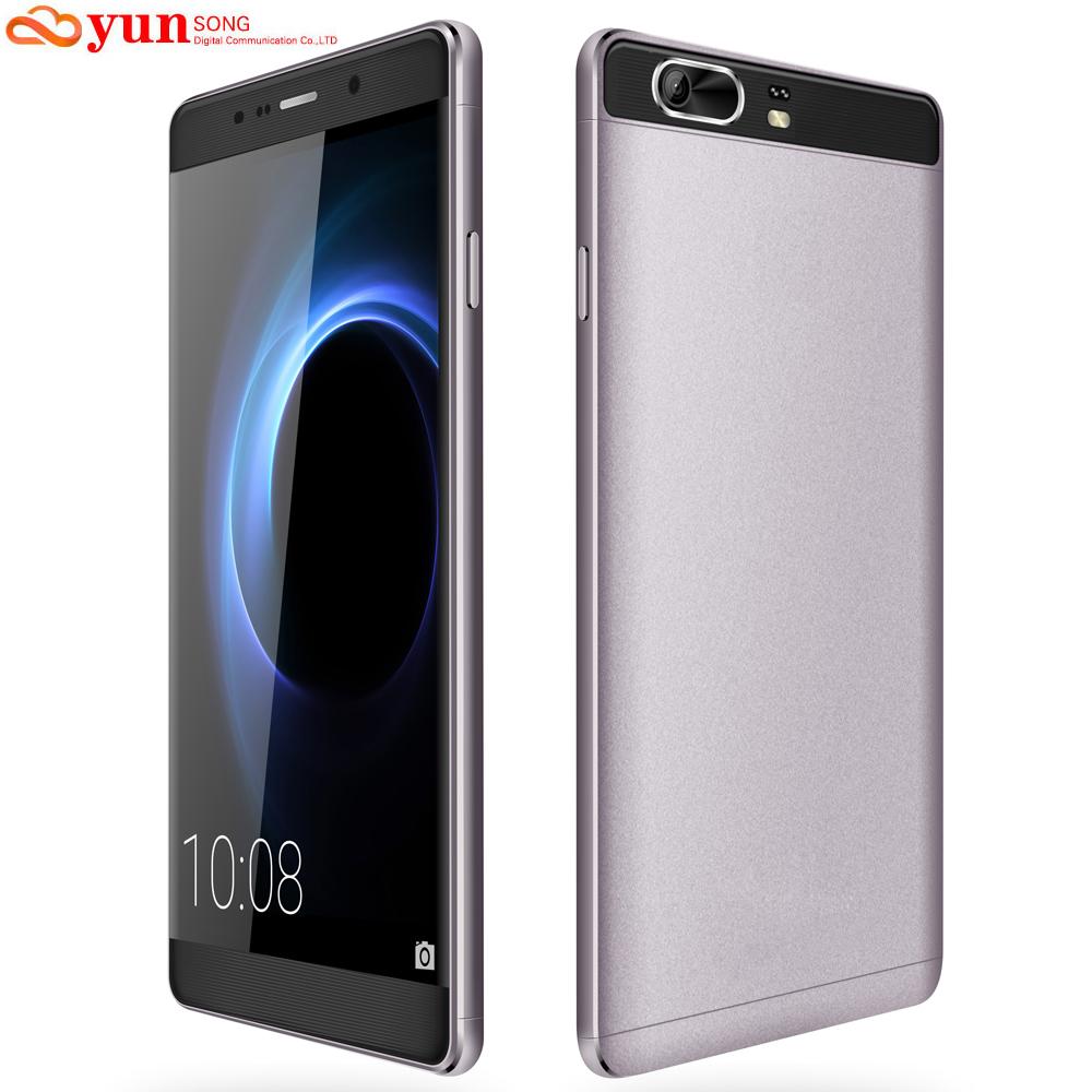2017 Original Mobile Phone YUNSONG S9 Plus 16MP camera 6.0 inch Smartphone MTK6580 Quad Core Dual Sim Cell Phone GSM/WCDMA 3G(China (Mainland))