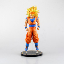 Dragon Ball Z Action Figures Collectible Toy Anime Dragon Ball Z Action Figure Goku Super Saiyan 3 Son Goku PVC 30cm BIG