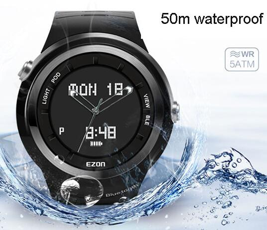 smart watch sports watch Step gauge 50m waterproof phone to remind Motion records Pointer digital display S3 free shipping