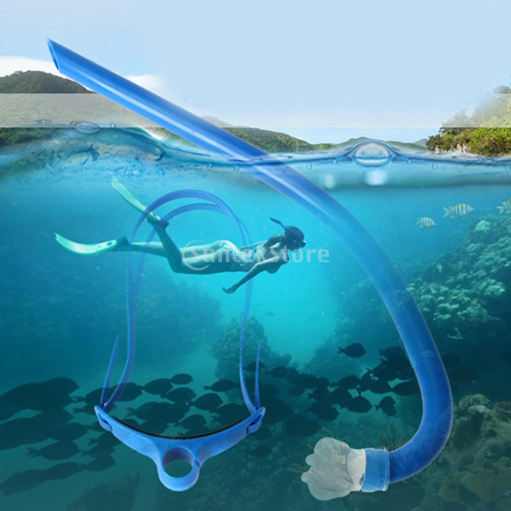 Freestyle Swimming Breathing Center Snorkel Scuba Diving Snorkeling Air Breath Tube Silicone Mouthpiece Underwater Accessories