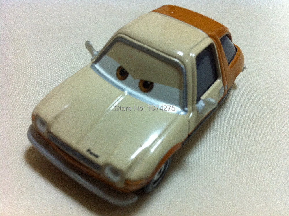 Pixar Cars Tubbs Pacer Metal Diecast Toy Car 1:55 Loose Brand New In Stock & Free Shipping(China (Mainland))