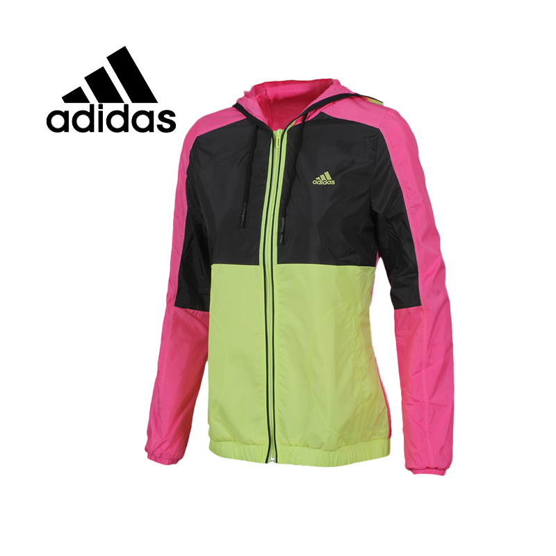 100% Original new 2015 ADIDAS womens sports jackets S14171 Spring models Sportswear free shipping<br>