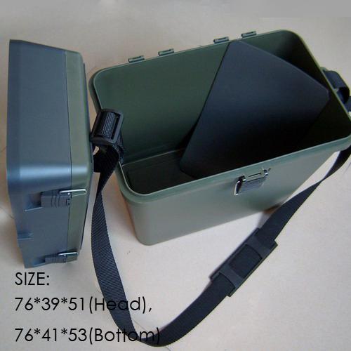 High strength ABS plastic Fishing Tackle Box free shipping seat box(China (Mainland))