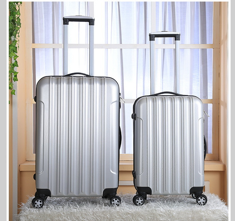 20 inch x 24 Universal Wheels Trolley Luggage Travel Bag Male Female Password Box Waterproof Colorful Suitcases