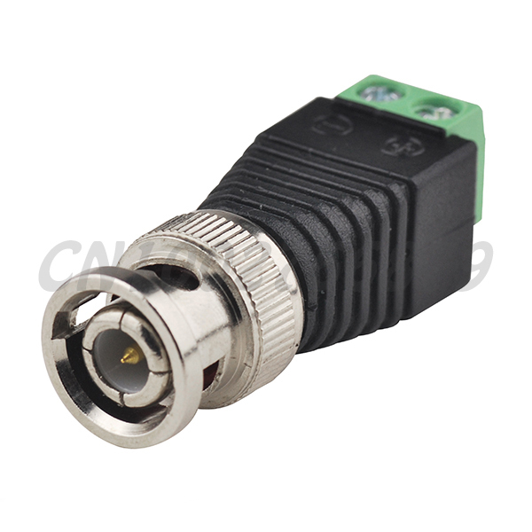 RF electrical wire terminal BNC Male TO AV Terminals PLUG CCTV Connector Adapter(China (Mainland))