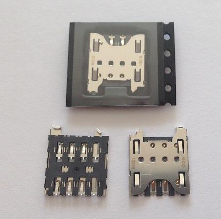 200pcs/lot, Original new for Blackberry Z10 Q10 SIM Card Reader connector Holder Tray Slot socket, HK Free Shipping