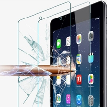 Transparent Clear Crystal Ultra Thin Film Case For Apple Pad Mini 4 Premium Tempered Glass Front Screen Protector For Pad Mini 4(China (Mainland))