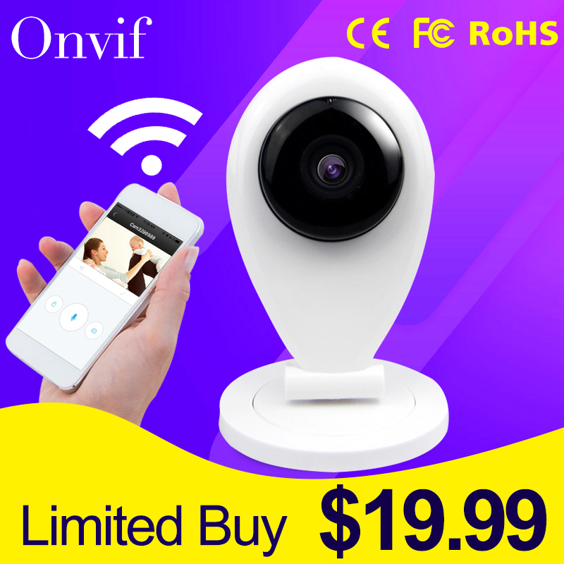 New Arrivall HD 720P Wireless P2P Mini Baby Monitor CAM Smart Onvif Network Outdoor Home CCTV Security Wireless WIFI IP Camera(China (Mainland))