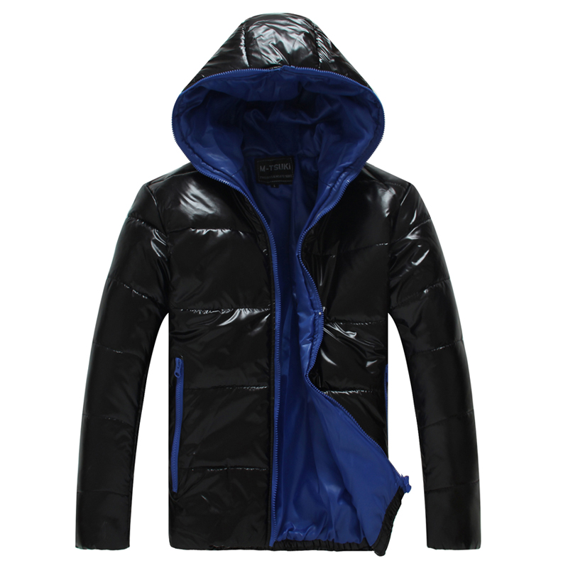 Hot-selling wadded jacket personalized color matching down coat with a hood wadded jacket