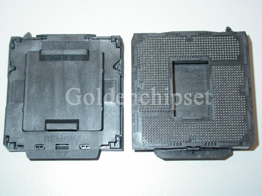 New Molex Socket H LGA1156 1156 CPU Base BGA Connector Holder I5 I7 Sale(China (Mainland))