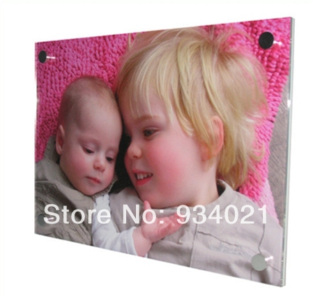 """Acrylic Picture Frames Wall Mounted Art Display 16"""" x 20""""(China (Mainland))"""