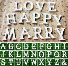 45% discount WOOD environmental!Wood Wooden Letters Bridal Wedding Party Birthday Xmas Home Garden Decorations(China (Mainland))