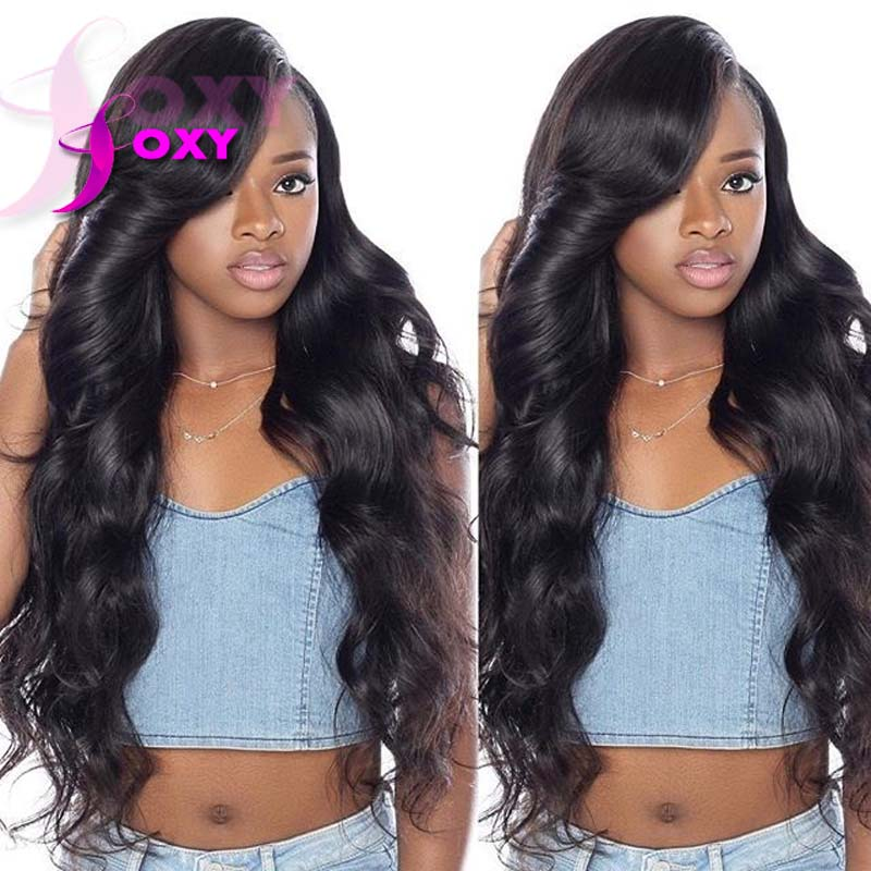 Body Wave Glueless Full Lace Wigs With Bangs Lace Front ...