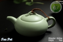 8pcs Warm Jade Chinese Ru Kiln Yao Sky Cyan Teaset Ceramic Rare Tea set 1 Tea