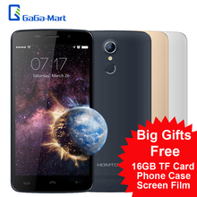 "Original HOMTOM HT17 3000mAh 5.5"" 1280*720 Smartphone Android 6.0 MTK6737 Quad Core 1GB+8GB 13MP Fingerprint 4G FDD Mobile phone(China (Mainland))"